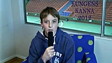 Видео с Циципас на 13 години и как 7 години по-късно побеждаваш идола си