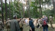 Ukraine: OUN carry out pogrom and demolish fence following march in Kiev