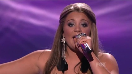 Lauren Alaina пее песен на Майли Сайръс (the Climb) в American Idol