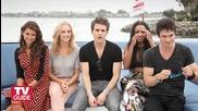 Vampire Diaries- Comic-con 2013 Nina Dobrev, Paul Wesley, Ian Somerhalder, Candice Accola