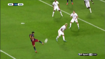Ucl - Barcelona 6:1 Roma (24.11.2015) [hd] Highlights