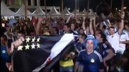 Аржентинските фенове във възторг от победата над Босна
