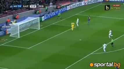 Барселона - Байер Леверкузен 7 - 1 07.03.2012