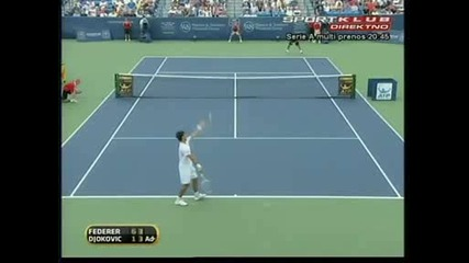 Djokovic vs Federer Final Cincinnati