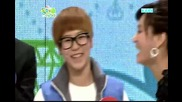 110204 Shinee Onew and Key -who s the real guy and onew sangtae