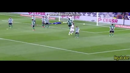 Невероятните два гола на Хамес срещу Реал Бетис