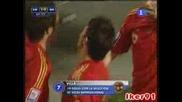 06.09 Spain 1 - 0 Bosnia & Herzegovina (wc 2010 Qualifiers - Europe)