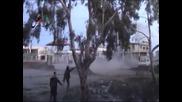 Тежки боеве се водят между бунтовниците и правителствената армия близо до Дамаск