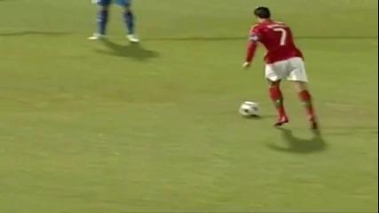 Cristiano Ronaldo Vs. Iceland - Фантастичен свободен удар