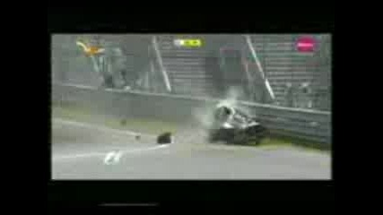 Robert Kubica F1 2007 Canada Crash