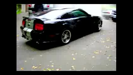Ford Mustang Gt Burnout