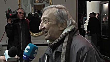 Анастасов: Цял живот играем на сцената, ако не можем - сънуваме, че играем