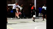 Streetsoccer and show most amazing freestyle tricks