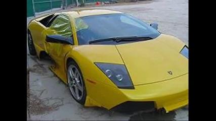 Катастрофи На Lamborghini