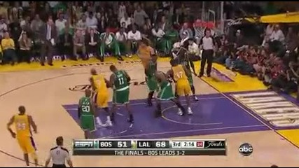 (2010 Nba Finals Game 6) Lakers vs Celtics (06.15.2010) Lakers Highlights