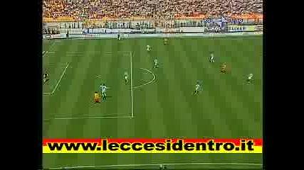 Lecce - Lazio Vucinic