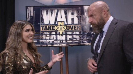 Triple H reacts to the incredible action at NXT TakeOver: WarGames II