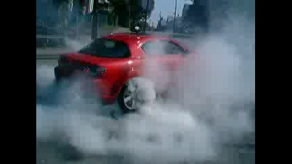 Mazda Rx8 - Burnout