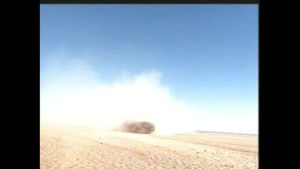 Реклама На Bmw M5 В Пустинята