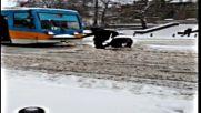 """""""Моята новина"""": Трамвай и сняг в София"""