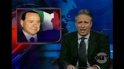 Silvio Berlusconi on The Daily Show