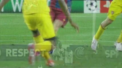Най - Добрите Атаки На Барселона Който Заваршват С Гол Сезон 2010 2011