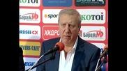 Томов: Няма селекционно предложение на треньора, което да не е удовлетворено