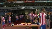Академика - Атлетико Мадрид 2:0
