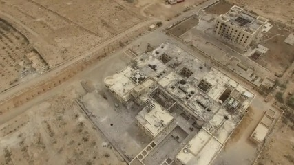 Syria: Drone captures ancient Palmyra after Syrian army enters the city