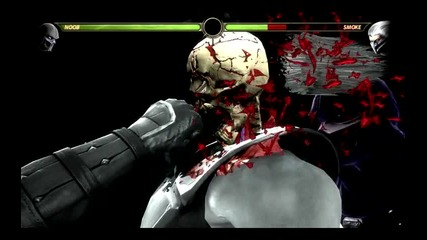 Mortal Kombat 9 - Всички X-ray движения
