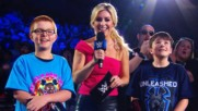 """Sarah Schreiber plays """"What's My Name?"""" with the WWE Universe: WWE.com Exclusive, June 25, 2019"""