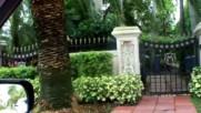Palm Island and Star Island Florida drive through completebirdmans Mansion Scott Storch Mansion