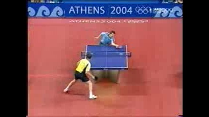 Тенис На Маса Jan Ove Waldner Vs Timo Boll