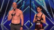 Бивша двойка със зашеметяващ номер Duo Volta- America's Got Talent 2015