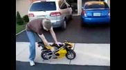 Mini Motor Bike Start