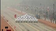 Зрелищни каскади с мотори на Националния празник на Индия