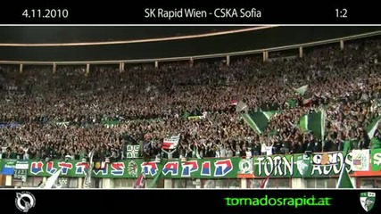 04.11.10 Block west in Wien daheim gagen C S K A Sofia