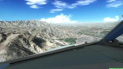 Fsx Landing in Palm Springs!