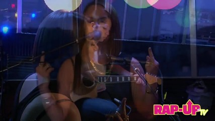 Jojo Performs ' Houstatlantavegas ' + ' Marvin's Room ' for Rap-up Sessions