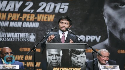 Manny Pacquiao Will Run for President of Philippines