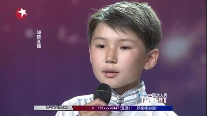 12 - годишен разплака всички с песен за починалата си майка