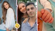 Нанси Карабойчева даде красиво и библейско име на второто си дете