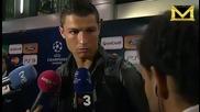 Роналдо иска да стане шафьор