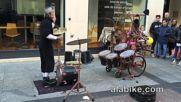 Страхотен уличен барабанист