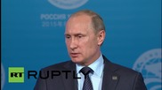Russia: Tsipras never asked Moscow for assistance, says Putin
