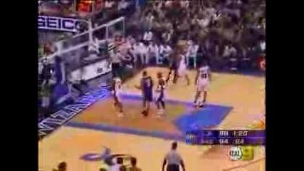 Kobe Bryant пада опитвайки се да имитира Мichael Jordan