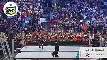 صارع هاردي وإيدج في اكستريم رولز – WWE سبوتلايت