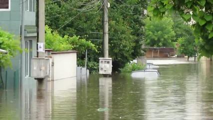 Наводнението в Добрич