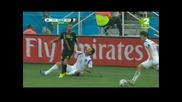 Мондиал 2014 - Южна Корея 0:1 Белгия - 10 Белгийци пречупиха Корейците и спечелиха групата си!