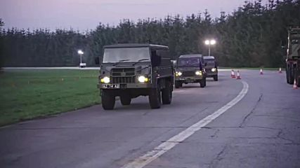 Sweden: British army convoy crosses into Denmark ahead of NATO's Trident Juncture drills